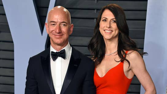 MacKenzie Bezos to be world's 4th-richest woman following divorce from Amazon CEO