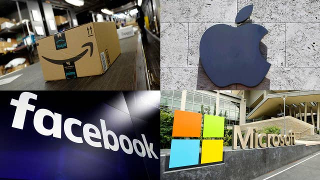 Amazon, Apple, Facebook and Microsoft to report earnings