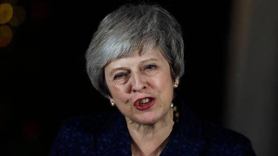 British PM Theresa May survives no-confidence vote