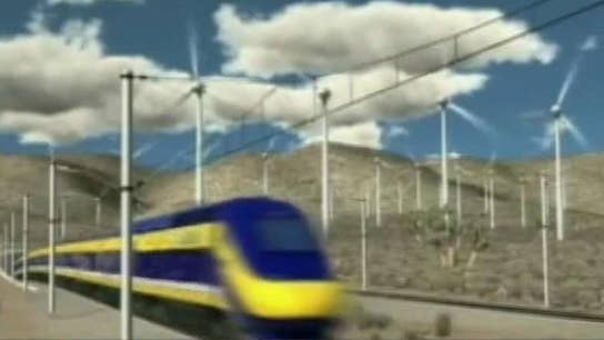 Trump spars with California governor over $77B bullet train project