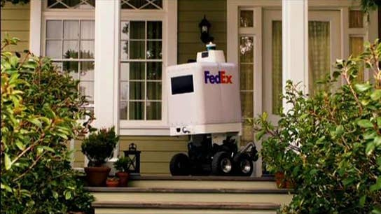 FedEx unveils new robot for same-day deliveries