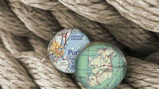 Love story inspires custom nautical chart jewelry made in the USA