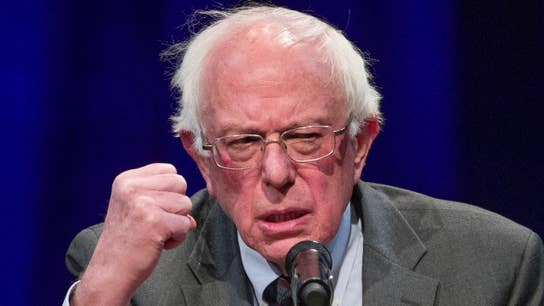 Impact of crowded field of 2020 left-wing Democratic candidates on Bernie Sanders' campaign