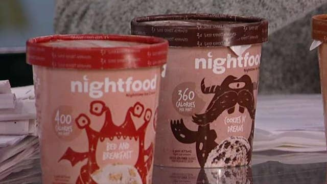 Sleep-friendly ice cream that claims to give you a better night's rest
