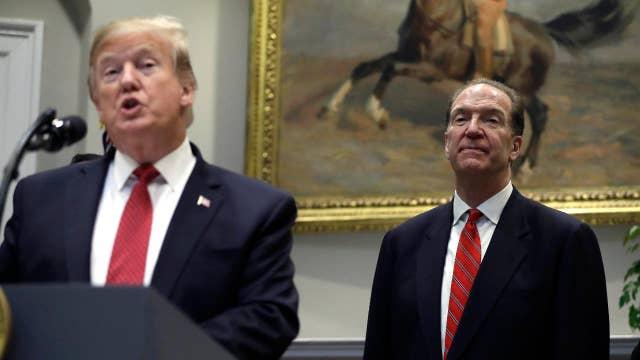 Trump nominates David Malpass to head the World Bank