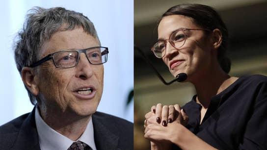 Bill Gates says Ocasio-Cortez tax policy misses the mark