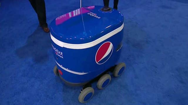 Pepsi's new 'Snackbots' delivering snacks on college campuses