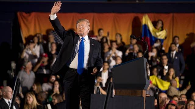 Trump: Socialism promises prosperity but it delivers poverty