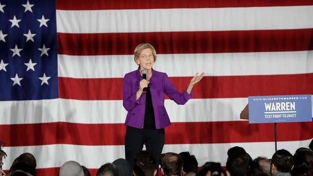 Sen. Elizabeth Warren targets big tech at SXSW