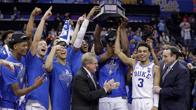 NCAA Tournament: Duke is a favorite, but I don't think that will be who gets it, professional sports handicapper says