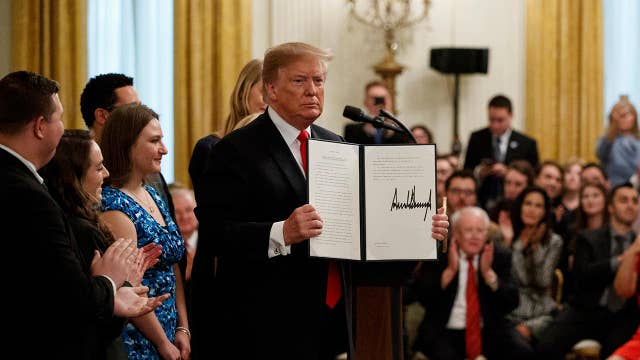 Hayden Williams: I'm honored President Trump recognized me at executive order signing