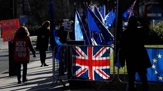 Political turmoil in Britain over Brexit