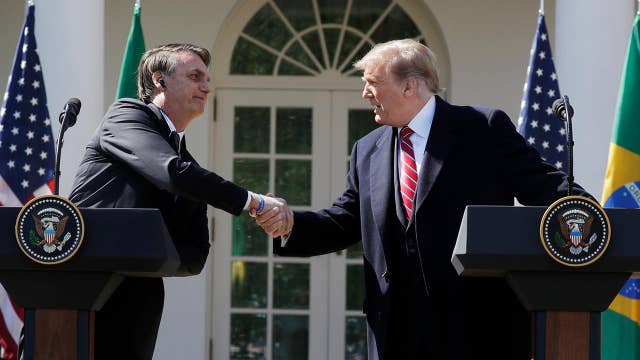 Trump: US will work with Brazil to expand space program