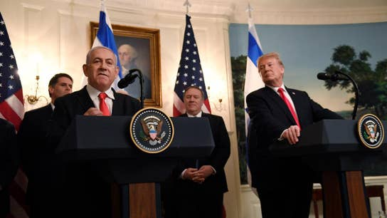 Trump announces recognition of Golan Heights as part of Israel in joint media briefing with Netanyahu