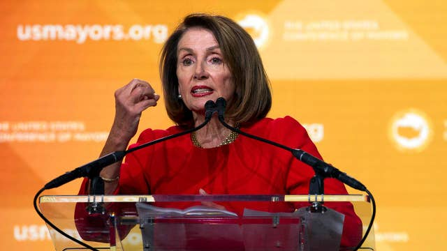 Democrats split over Nancy Pelosi's impeachment comments