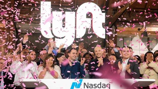 Lyft shares pop in Wall Street debut