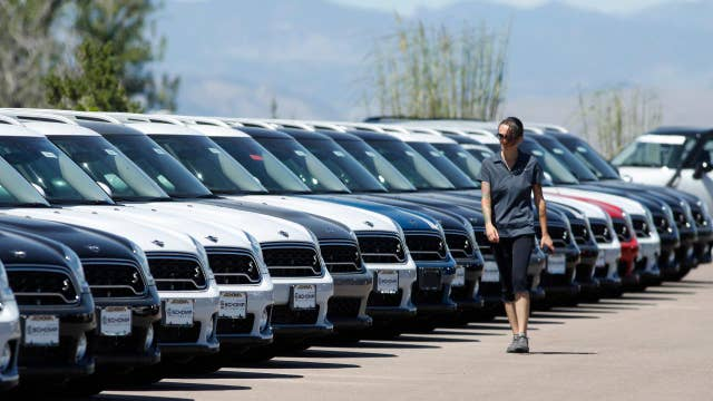 Sticker shock setting in for American car buyers