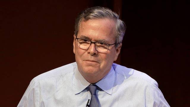 Jeb Bush calls for a Republican candidate to run against Trump in 2020