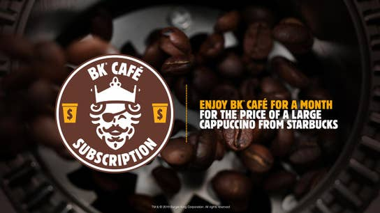 Burger King offers sweet new deal for coffee lovers; Facebook video takedown