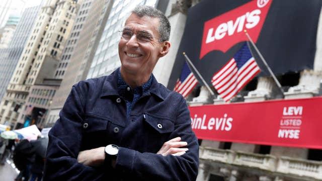 Levi's CEO: Return to Wall Street a 'big milestone'
