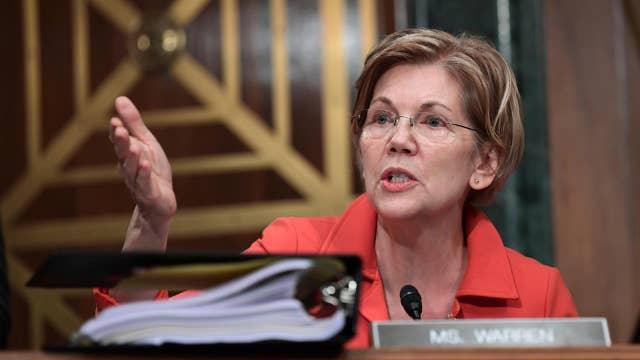 Elizabeth Warren takes on big tech