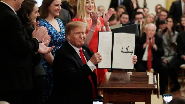 Trump's executive order will benefit millions of students: College Republicans National Committee chairman