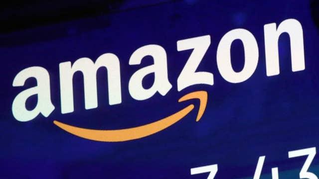 Amazon stock trades higher despite Jeff Bezos-National Enquirer scandal