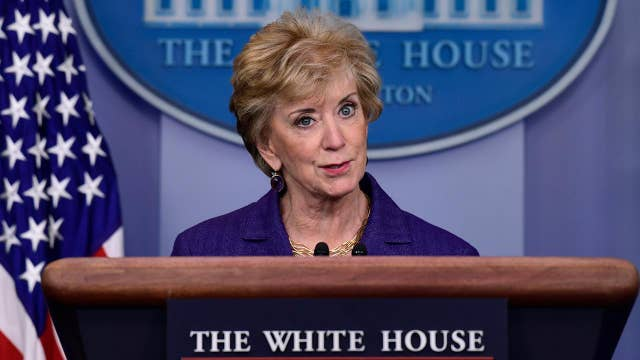 Linda McMahon to resign as head of the Small Business Administration