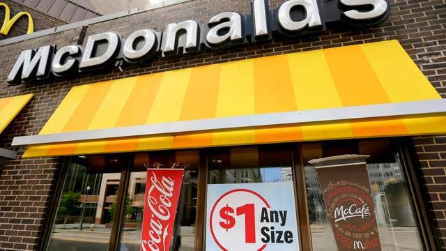 McDonald's stops lobbying against minimum wage hikes