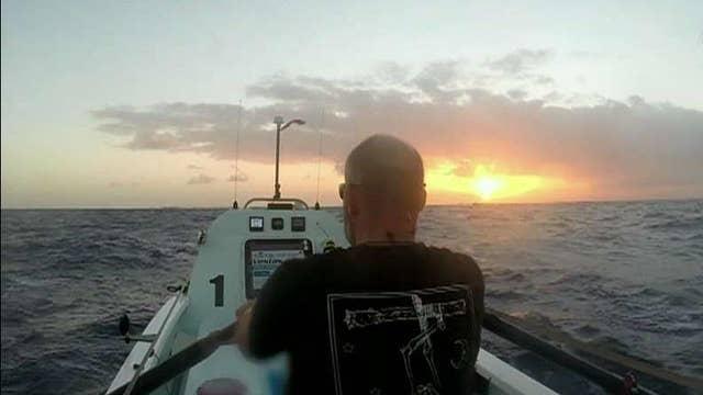Veteran rows across the Atlantic to bring awareness to the veteran suicide epidemic