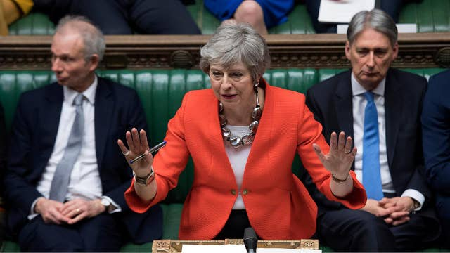 UK Parliament votes down Prime Minister Theresa May's Brexit deal