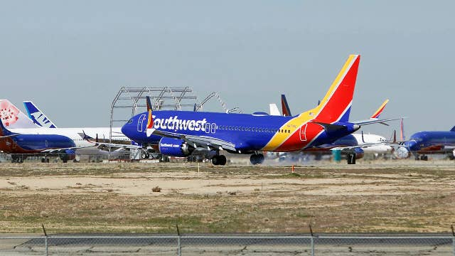 Boeing 737 Max plane makes emergency landing at Orlando airport
