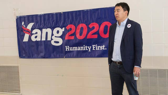 2020 presidential candidate Andrew Yang supports universal basic income