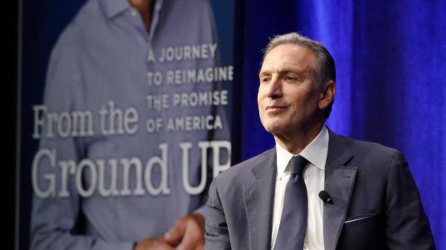 Howard Schultz slams Trump, Republicans over rising debt