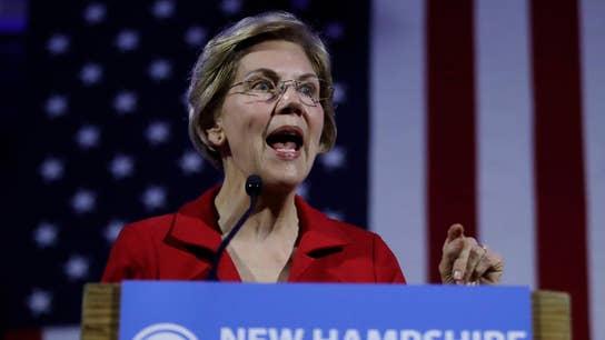 Kennedy criticizes Elizabeth Warren's plan to break up big tech