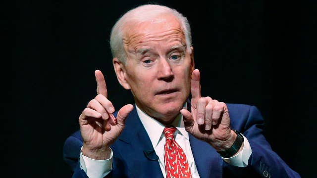 Concerns Biden's name recognition isn't enough in potential 2020 bid