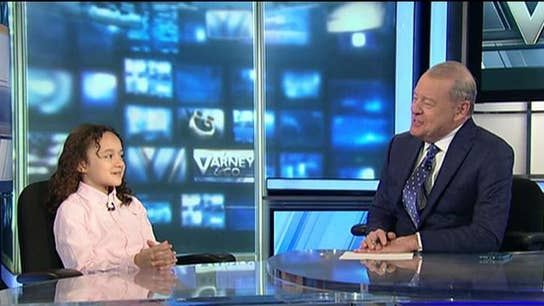 Take your kid to work day at Varney & Co.