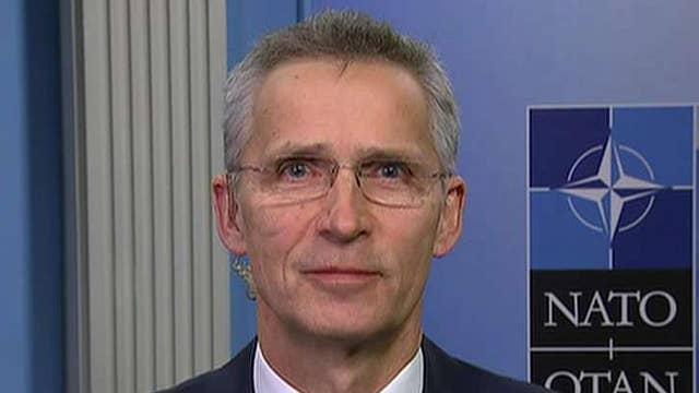 NATO Secretary General on Trump meeting, Russian threat, rise of China