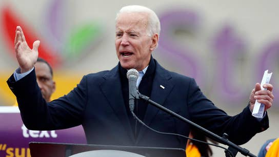 The challenges facing Biden despite his name recognition