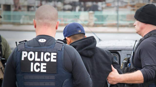 ICE executes raid arresting 280 workers at Texas business