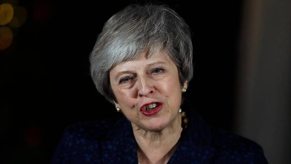 Theresa May pushes for extension on Brexit