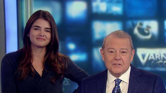 Stuart Varney's daughter stops by the show for 'Take Your Kids to Work Day'