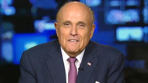 Giuliani 'very happy' with Mueller report
