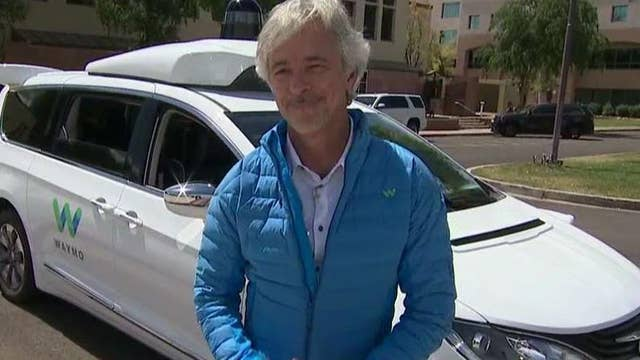 Waymo CEO: Technology is needed in our self-driving car for safety