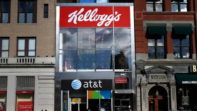Kellogg to sell cookie business