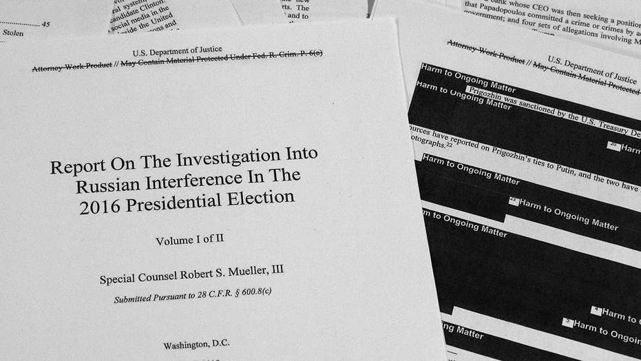 Department of Justice releases redacted version of the Mueller report