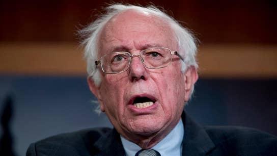 Bernie Sanders takes shots at Amazon, Chevron, other big businesses