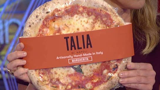 Pizza made in Italy to be shipped to US customers