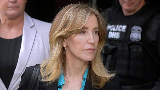 Actress Felicity Huffman could face 4-10 months in prison