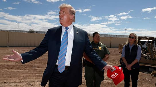 Trump visits southern border after threating Mexico with 25% auto tariffs